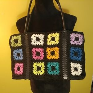 The SAK crochet handbag